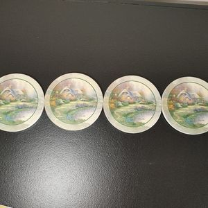 Thomas Kinkade set of 4 coasters